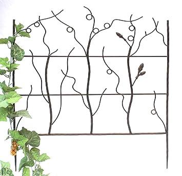 DanDiBo Support pour plantes grimpantes JD2-12026 Treillis en métal ...