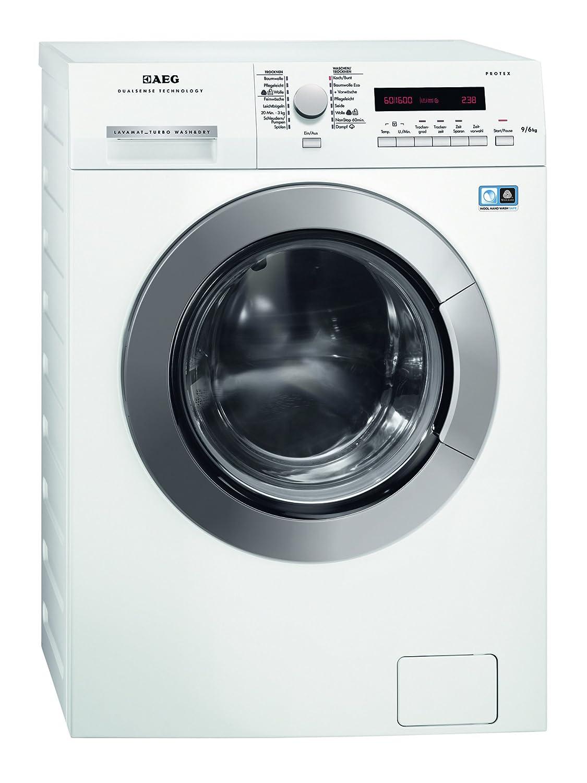 AEG L75694NWD Waschtrockner / 1224 kWh/Wolletrockenprogramm / weiß [Energieklasse A]