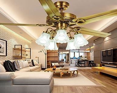 Los ventiladores de techo decorativos, restaurantes, simple araña ...