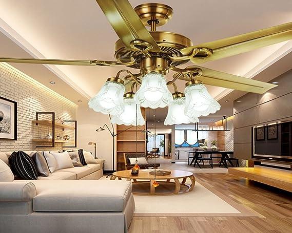 Los ventiladores de techo decorativos, restaurantes, simple ...