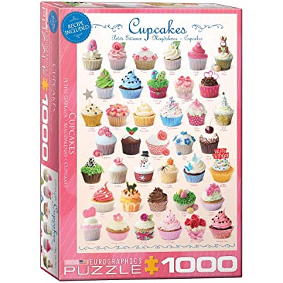EuroGraphics Cupcakes Puzzle (1000-Piece): Toys & Games