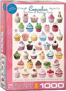 EuroGraphics Cupcakes Puzzle (1000-Piece)
