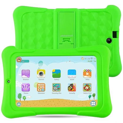 105 opinioni per Alldaymall Bambini Tablet 7 pollici 16GB (IPS FHD 1920x1200, Processore 64-Bit