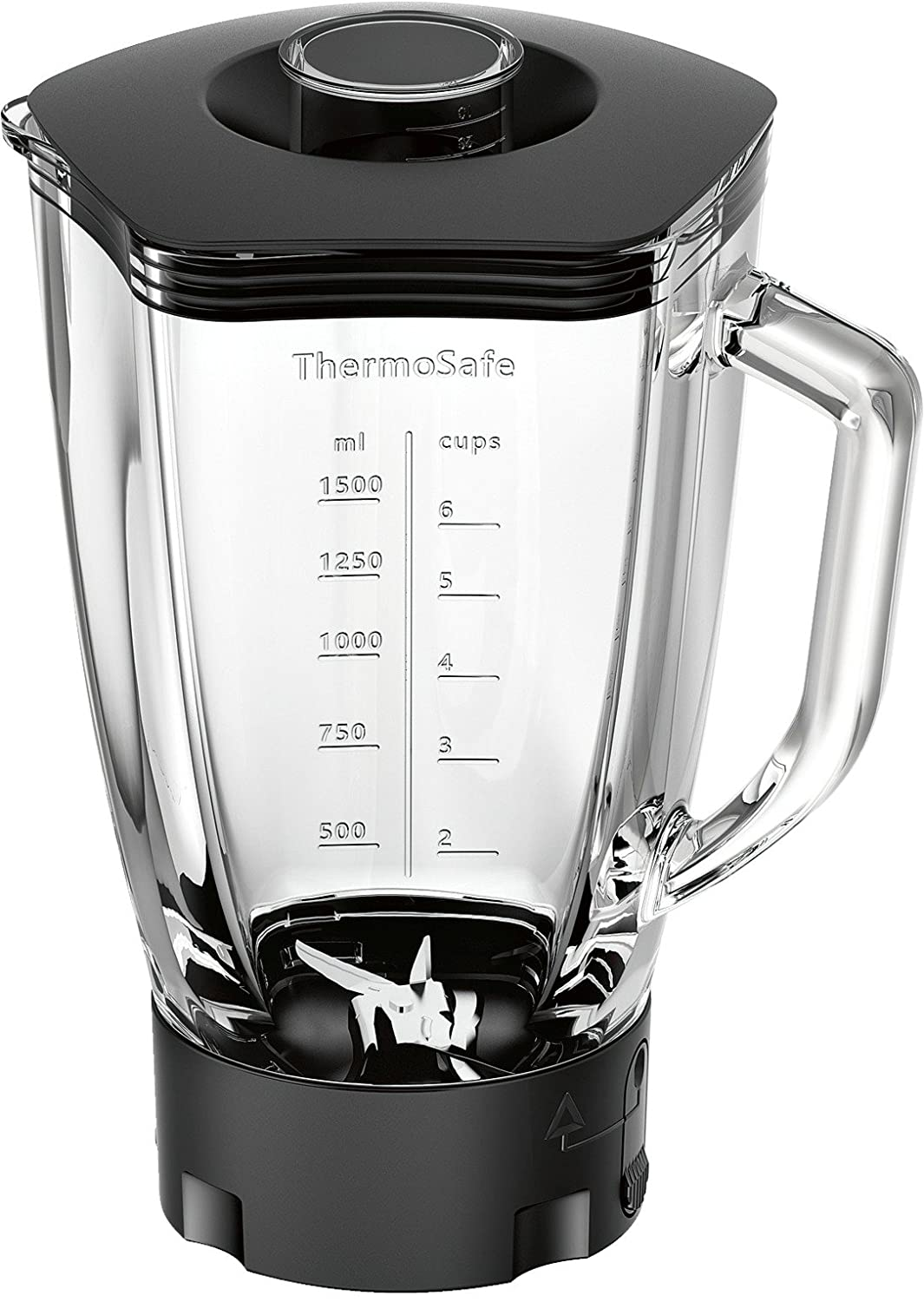 Bosch MUZ9MX1 Thermosafe Glass Blender with Stainless Steel Knife For Kitchen Optimum