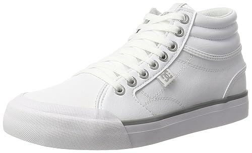 Evan Hi, Zapatillas para Mujer, Blanco (White/Silver), 39 EU DC