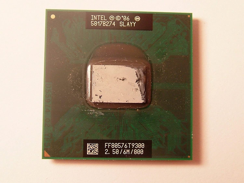 Intel 2.5 GHz Core 2 Duo CPU Processor T9300 SLAYY Dell Latitude D630