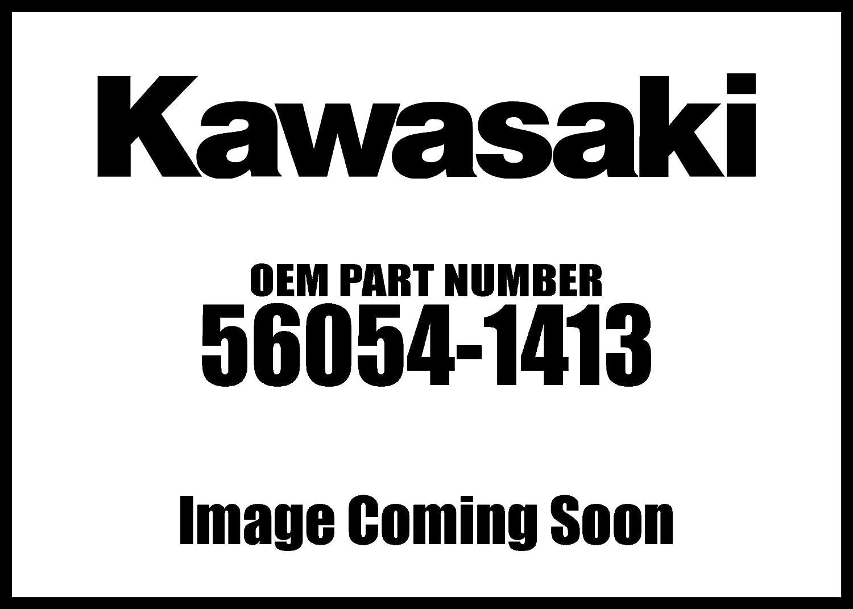 Kawasaki ABS Fender Mark Silver Sticker Decal Logo Badge