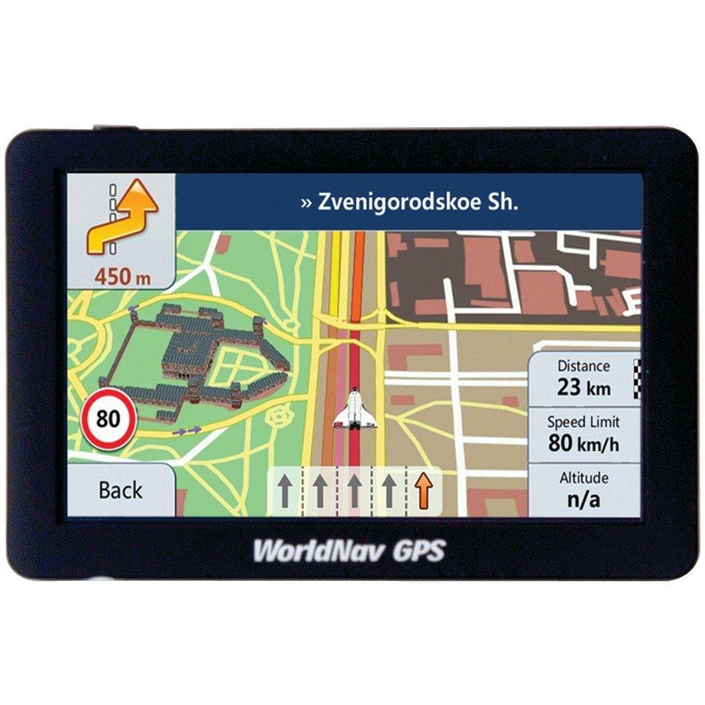 WORLDNAV TTC588060 6.70in. x 4.50in. x 3.60in. 5880 High-Resolution 5'' Truck GPS with Bluetooth