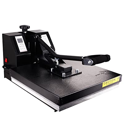 PowerPress Industrial-Quality Digital Heat Press Machine 15 x 15