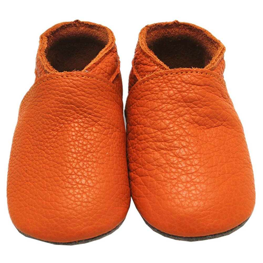 Mejale Baby Shoes Soft soled Leather Moccasins Heart Infant Toddler Pre-Walker (24-36 Months/US 7-8C Toddler)