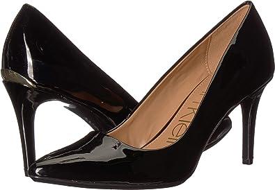 85508f414eb4 Calvin Klein Women s Kamara Black Patent Smooth 6 M ...