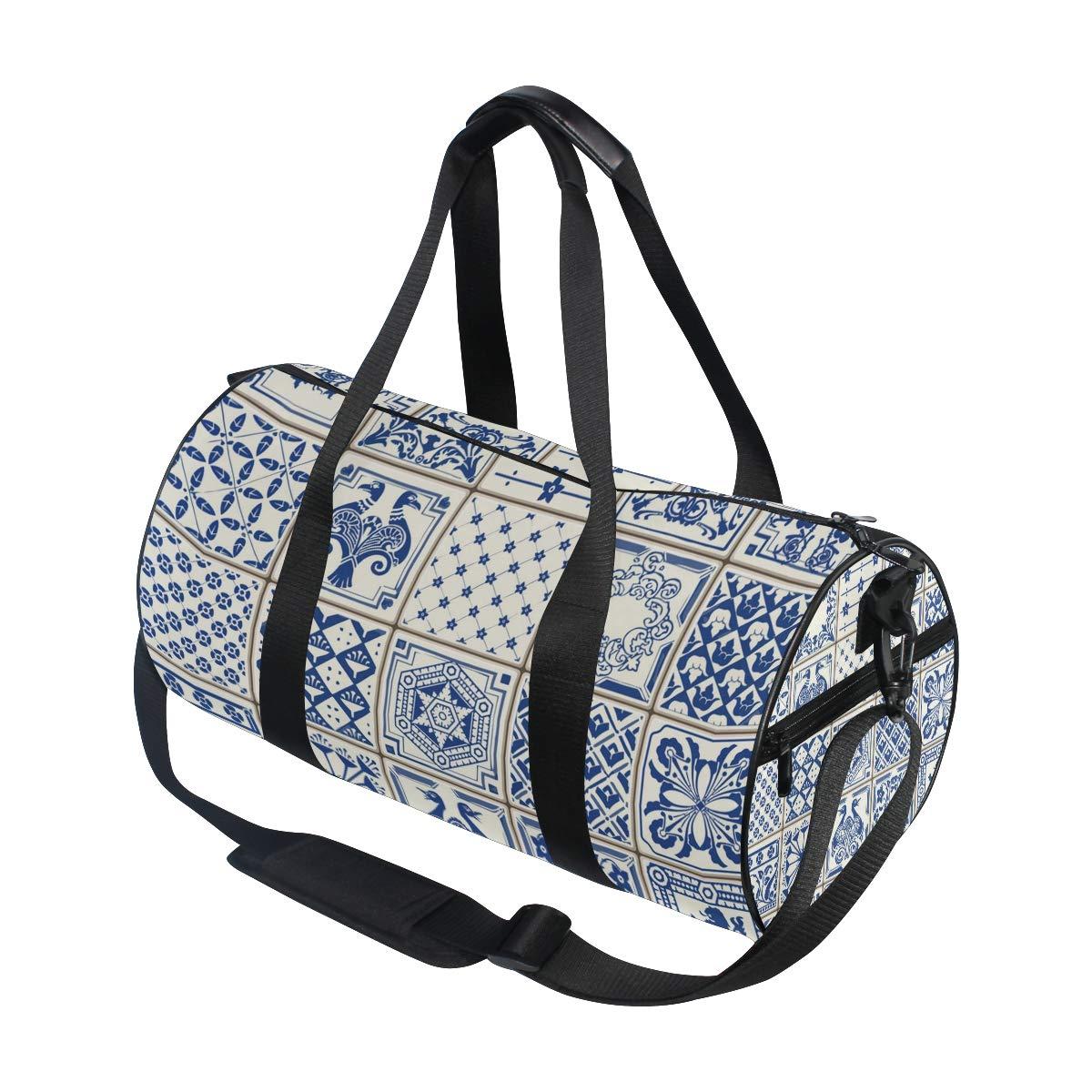 Wonderful Beautiful Ceramic PictureWaterproof Non-Slip Wearable Crossbody Bag fitness bag Shoulder Bag