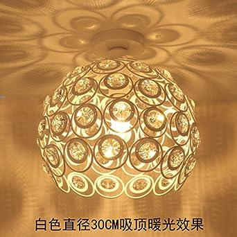 FGSGZ Kristall Deckenleuchte Kreative Moderne Salon Schlafzimmer Leuchten  Lampen Für Kinder American Style Loft Weiß Warmes