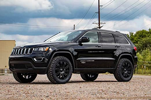 Lifted Jeep Cherokee >> Amazon Com Rough Country 60300 2 5 Leveling Kit Compatible With