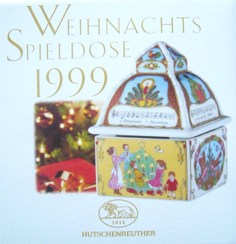 Hutschenreuther Weihnachtsspieldose 1999