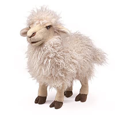 Folkmanis Longwool Sheep Hand Puppet: Toys & Games