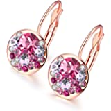 YouBella AAA Swiss Zircon Gold-Plated Earrings for Women