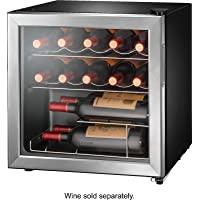 Deals on Insignia 14-Bottle Stainless steel Wine Cooler NS-WC14SS9