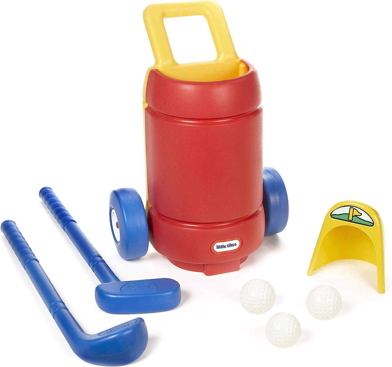 Little Tikes TotSports Easy Hit Golf Set + 3 balls + 2 clubs