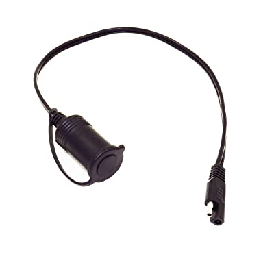 MOTOPOWER MP68993 SAE to Cigarette Lighter Socket Adapter Cable