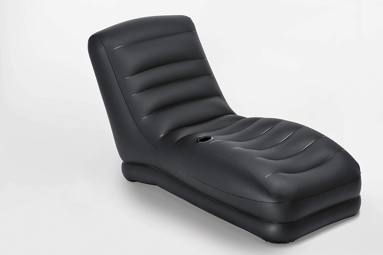 Black Intex Mega Lounge