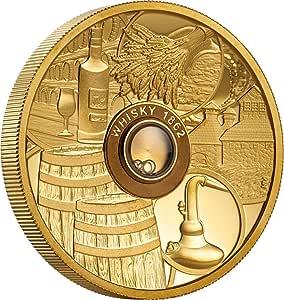 Power Coin Whisky Vatted Glenlivet 1862 Oldest Spirits 2 Oz Moneda ...