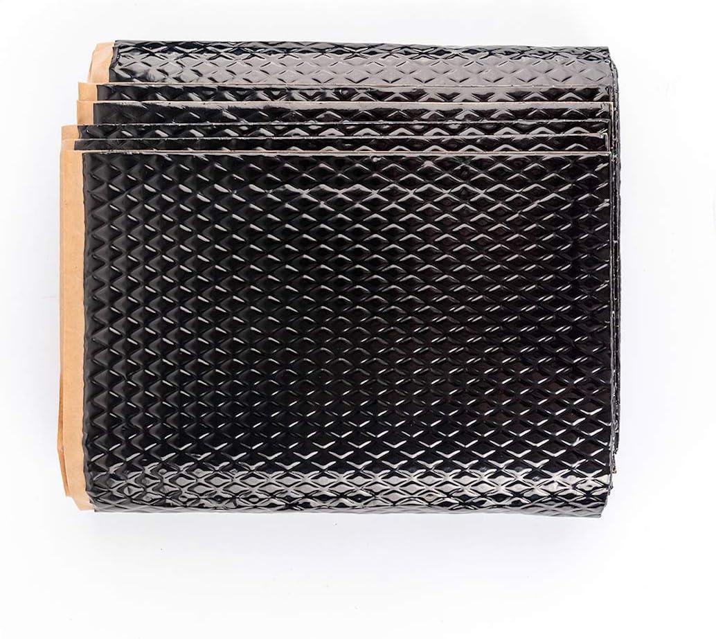 Noico Black 80 mil 10 sqft Car Sound Deadening Mat Butyl Automotive Sound Deadener Audio Noise Insulation and Dampening