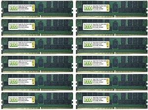 768GB 12x64GB DDR4-2933 PC4-23400 LRDIMM Memory for Apple Mac Pro Rack 2020 MacPro 7,1 by NEMIX RAM