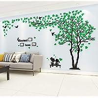 Árbol Pegatinas de Pared 3D Árbol Familia Marco de Fotos DIY Murales Stickers Decoración para Salón, Dormitorio, Oficina…