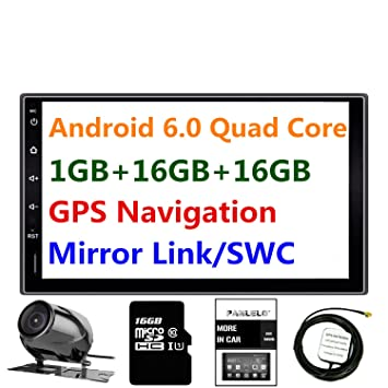 Panlelo® PA09YZ16, 7 Zoll 2 Din Head Unit Android: Amazon.de: Elektronik