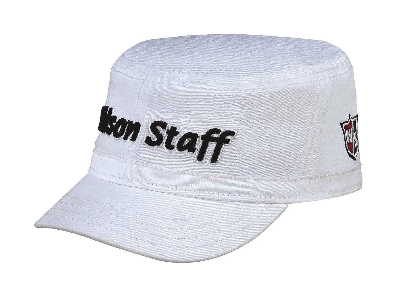 Wilson Staff FG Tour – Ingeniero Cap - WGH222LWH, Blanco: Amazon ...