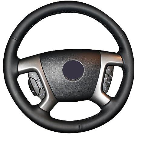 Amazon.com: Funda para volante de piel original para ...