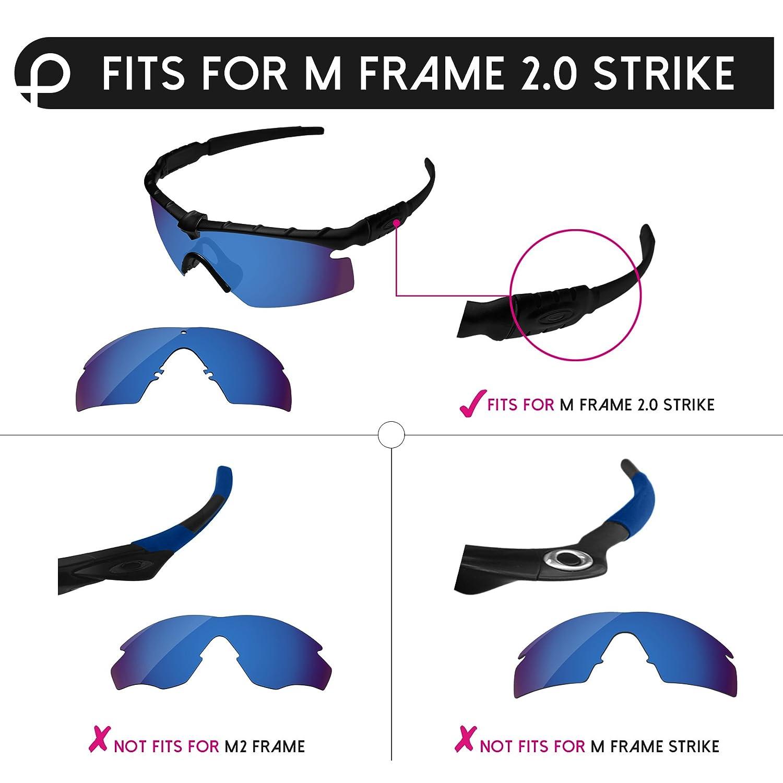 Amazon.com: PapaViva Replacement Lenses & Ear Socks for Oakley M ...