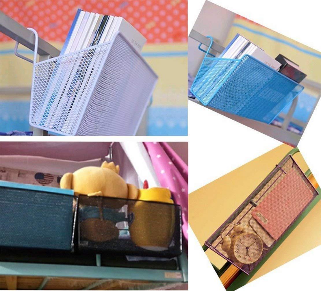 SZHAIYU Dormitory Bedside Hanging Storage Supplies Desktop Corner Shelves Basket Holder Containers for Home Office