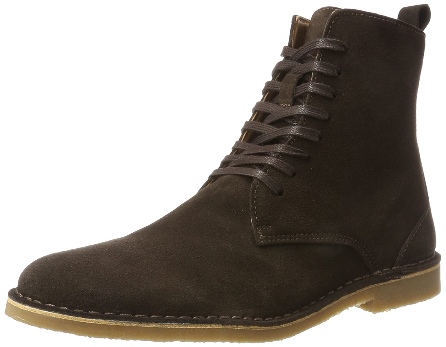 TALLA 43 EU. Selected Shhroyce High Suede Boot - Botines Hombre