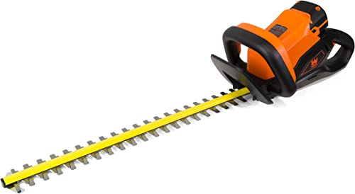 WEN 40415BT 40V Max Lithium-Ion 24-Inch Cordless Hedge Trimmer Tool Only , Black