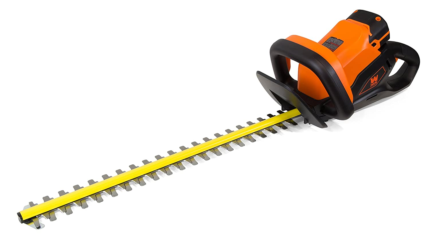 WEN 40415 40-Volt Max Lithium-Ion 24 in. Cordless Hedge Trimmer with 2Ah Battery and Charger