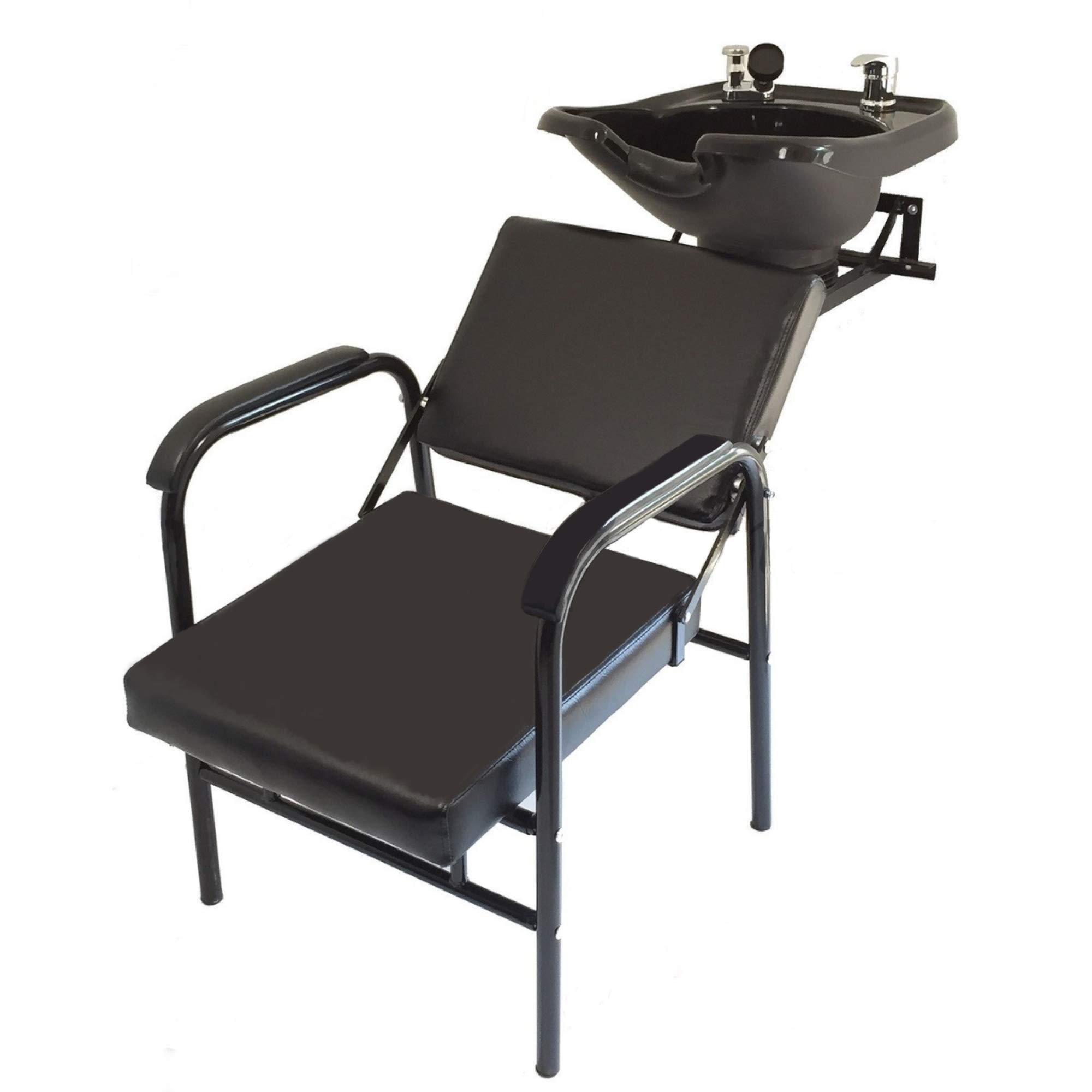 Salon Backwash Shampoo Tilt Bowl Sink Wall Mounted Reclining Shampoo Chair TLC-B13WT-216