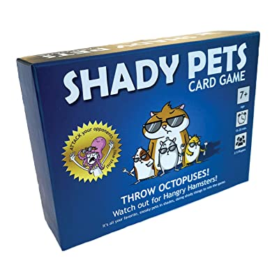 Shady Pets Card Game - Family-Friendly Party Games - Card Games for Adults, Teens & Kids: Sports & Outdoors
