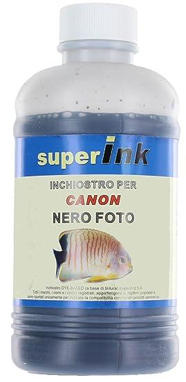 250ml (Negro Foto) - Tinta superInk específica para la Recarga de ...