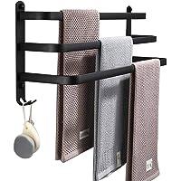LNNB Handdoekenrek 1-Tier 2-Tier 3-Tier Badhanddoekenrek Muur gemonteerd/Zelfklevende Handdoekenhouder Handdoek Bar Rail…