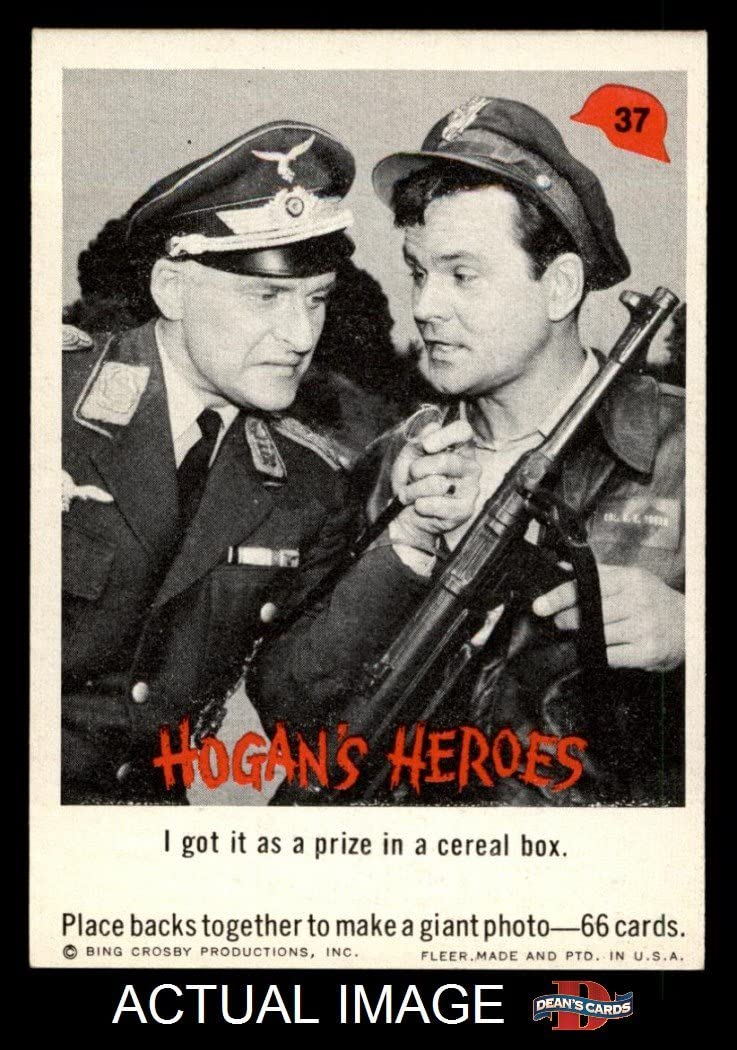 1965 Fleer Hogan's Heroes # 37 I Got It as Prize in Cereal (Card) Dean's Cards 7 - NM 7137-EzubGLSL1050_