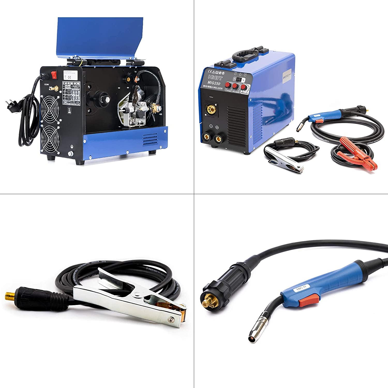 Profi Schweißmaschine schweißgerät IGBT Inverter Löten Kit mit Schweißmaske 220V