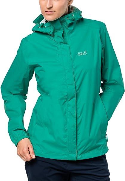 Jack Wolfskin Damen Cloudburst Women Atmungsaktiv Wasserdicht Winddicht Outdoor Funktionsjacke Wanderjacke Regenjacke Wetterschutzjacke