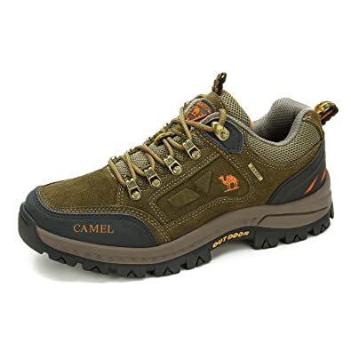 8b4da73f4241 Amazon.com | CAMEL SHOES Men's Outdoor Leather Hiking Shoes ...