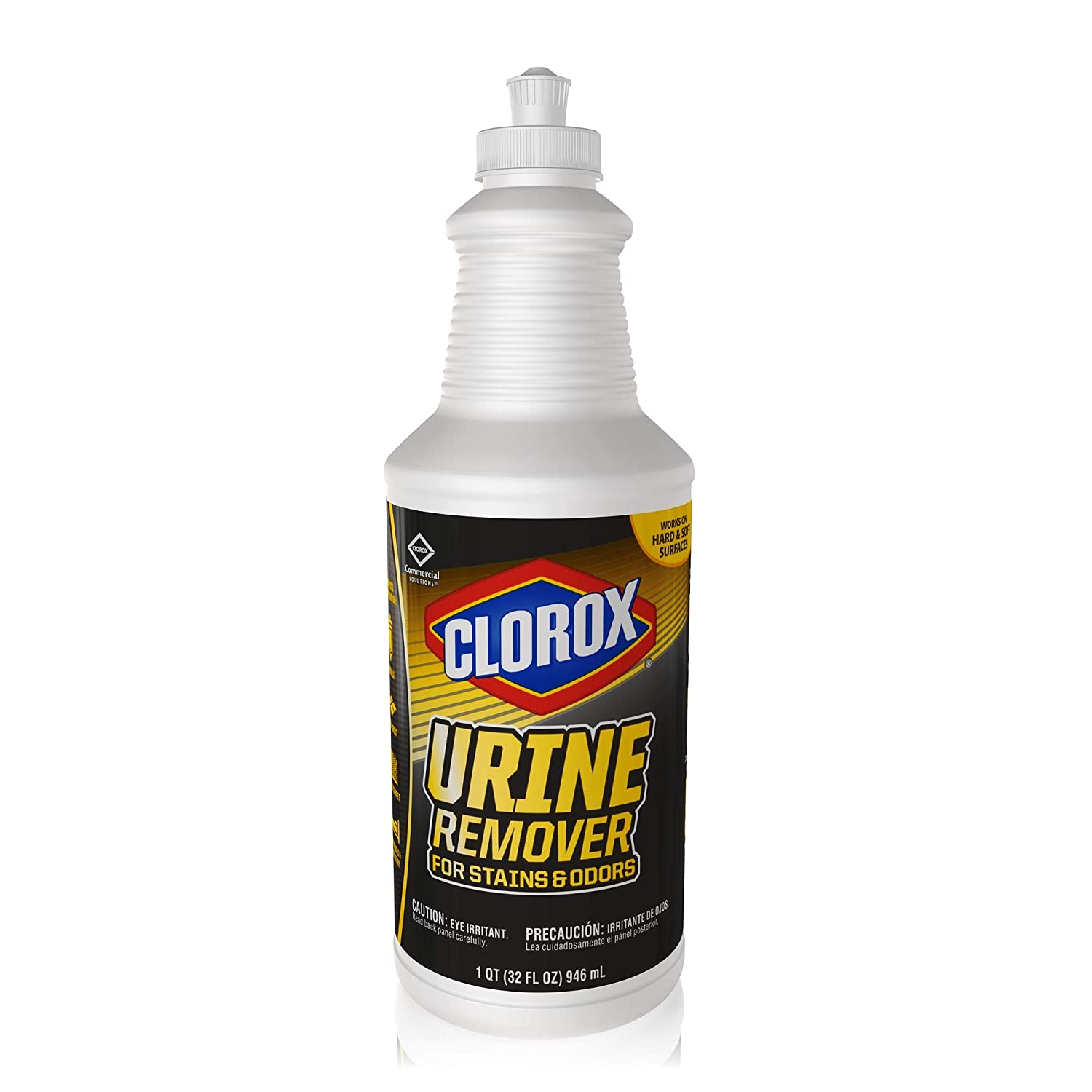Clorox Commercial Solutions Urine Remover for Stains and Odors - 32 Ounce Pull Top Bottle (31415)