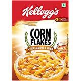 Kellogg's Corn Flakes - Real Almond and Honey, 650g Carton