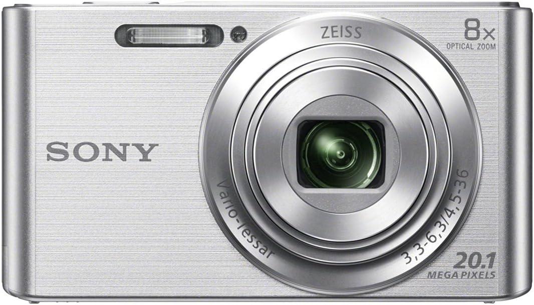 Sony Dsc W830 Digitalkamera 2 7 Zoll Silber Kamera