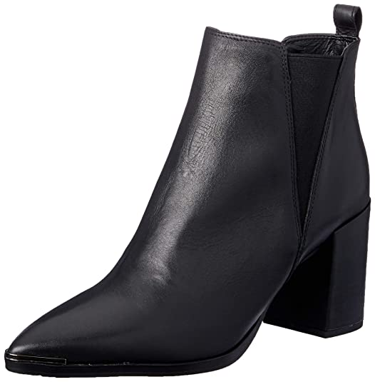 Tony Bianco Bello Womens Ankle Boots   With Covered Block Heel & Side Triangular Gussets by Tony Bianco
