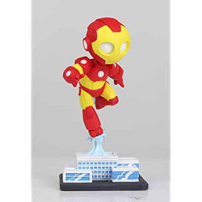 Marvel Iron Man Collectible Figurine, Multicolor: Toys & Games